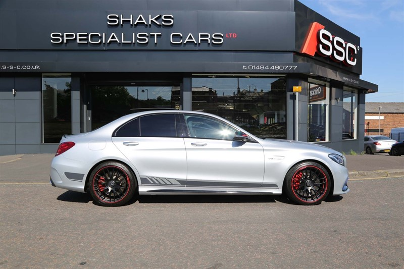used Mercedes C63 V8 BiTurbo AMG S Edition 1 SpdS MCT (s/s) in huddersfield-west-yorkshire