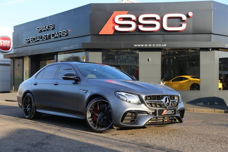 used Mercedes E63 AMG E Class S Edition 1 9G-Tronic 4MATIC+ (s/s) 4dr in huddersfield-west-yorkshire
