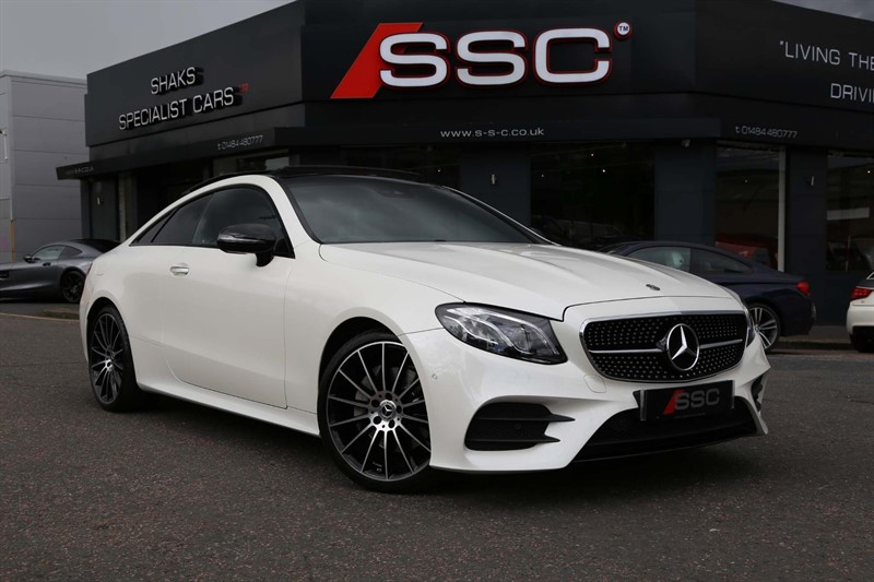 used Mercedes E220 AMG Line (Premium Plus) G-Tronic+ (s/s) in huddersfield-west-yorkshire