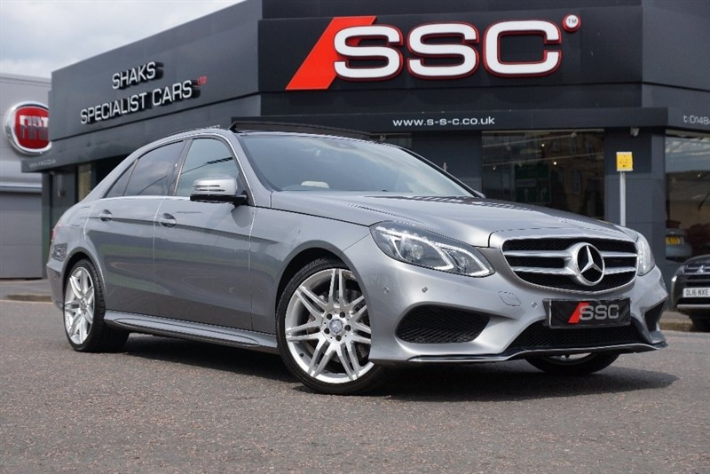 used Mercedes E350 E Class CDI BlueTEC AMG Sport 7G-Tronic Plus 4dr in yorkshire