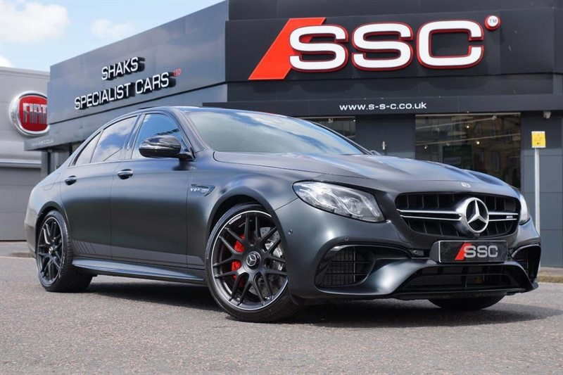 used Mercedes E63 AMG E Class V8 BiTurbo AMG S Edition 1 SpdS MCT 4MATIC+ (s/s) 4dr in huddersfield-west-yorkshire