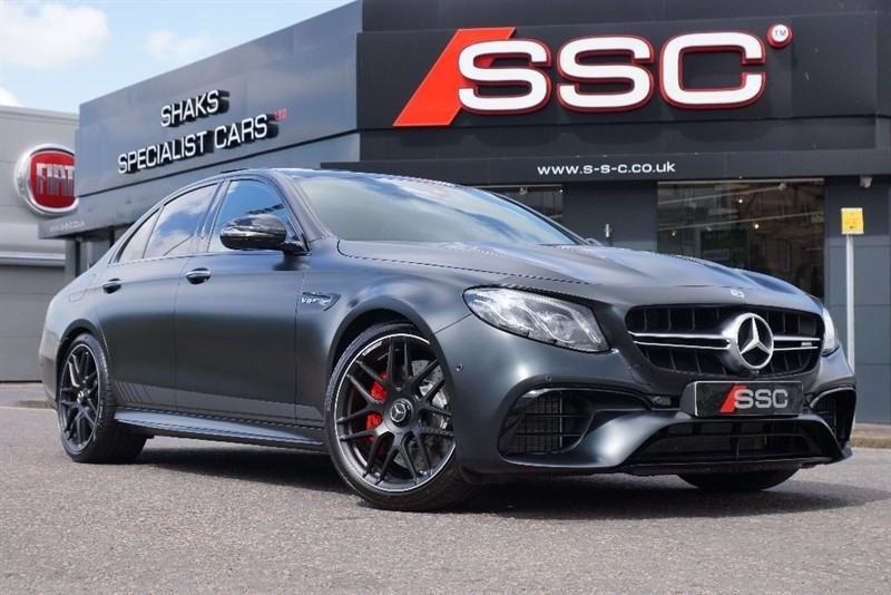 used Mercedes E63 AMG E Class 4.0 S Edition 1 Saloon 9G-Tronic MATIC+ 4dr (start/stop) in yorkshire