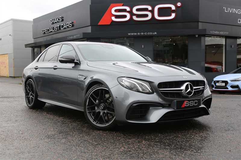 used Mercedes E63 BiTurbo V8 AMG SpdS MCT 4MATIC+ (s/s) in huddersfield-west-yorkshire