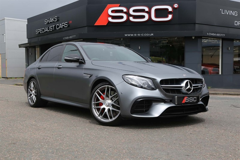 used Mercedes E63 BiTurbo V8 AMG S (Premium Plus) SpdS MCT 4MATIC+ (s/s) in huddersfield-west-yorkshire