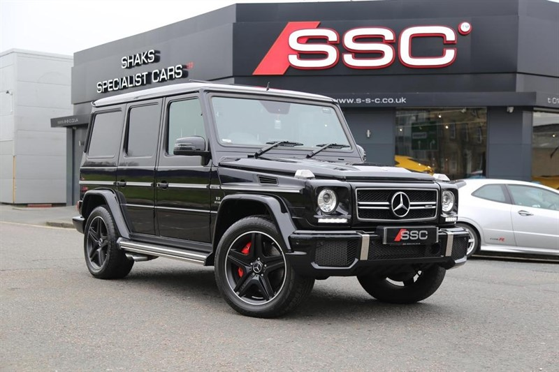 used Mercedes G63 AMG G Class Speedshift Plus 7G-Tronic 4x4 5dr in huddersfield-west-yorkshire