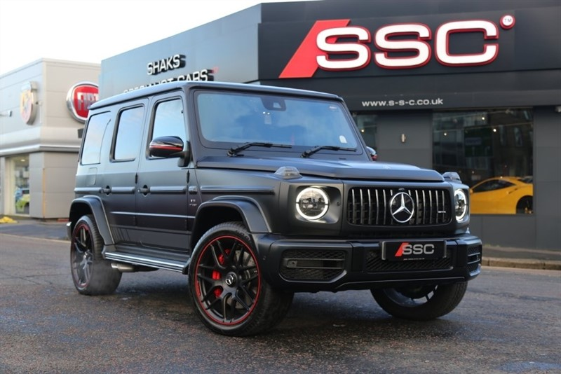 used Mercedes G63 AMG G Class Edition 1 AMG Speedshift Plus 9G-Tronic 4x4 (s/s) 5dr in huddersfield-west-yorkshire