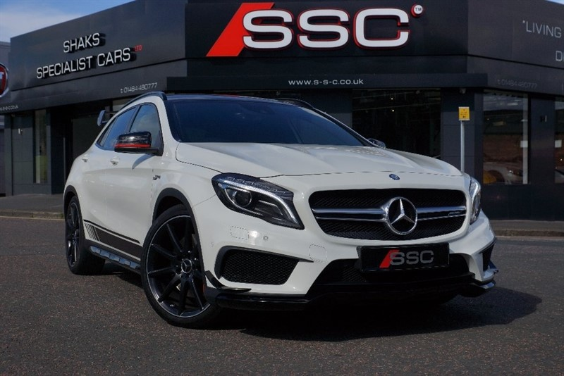 used Mercedes GLA45 AMG GLA Class 2.0 4-MATIC 5dr (start/stop) in yorkshire