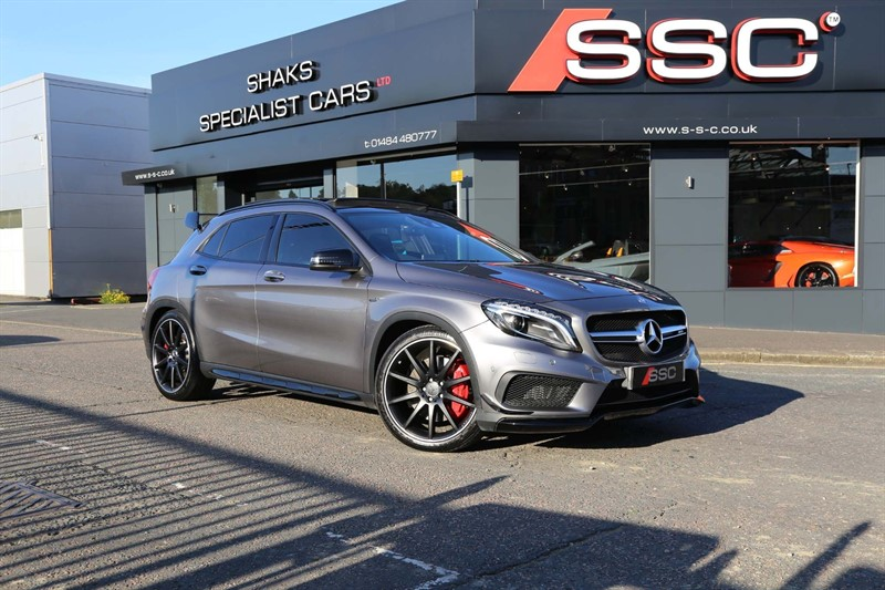 used Mercedes GLA45 AMG GLA Class (Premium) Speedshift DCT 4MATIC 5dr in huddersfield-west-yorkshire
