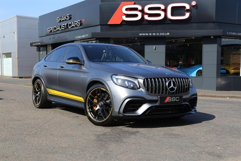 used Mercedes GLC63 AMG GLC Class S Edition 1 G-Tronic 4MATIC (s/s) 4dr in huddersfield-west-yorkshire