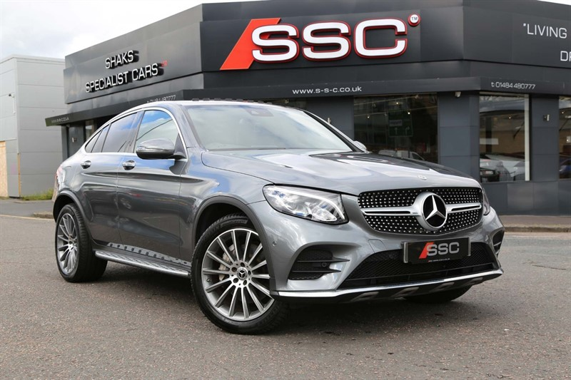 used Mercedes GLC220 AMG Line (Premium Plus) G-Tronic 4MATIC (s/s) in huddersfield-west-yorkshire