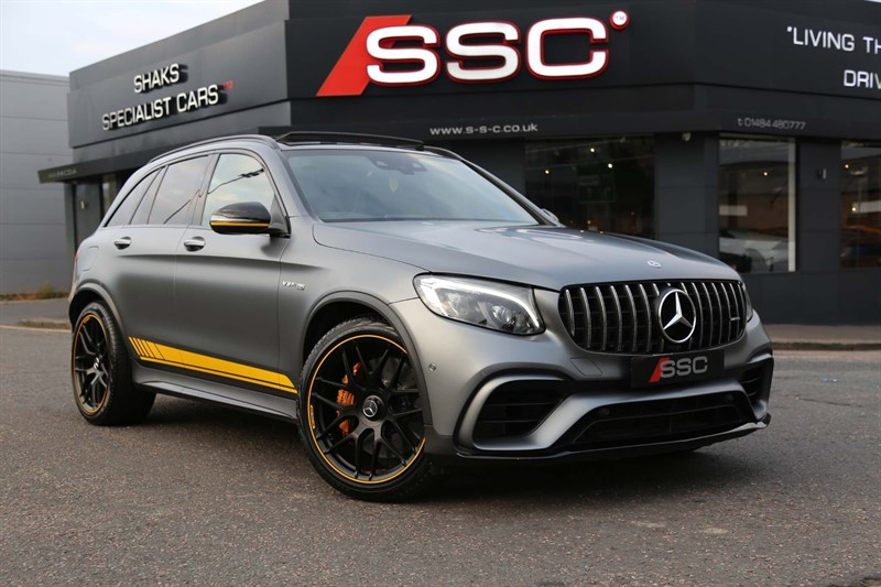 used Mercedes GLC63 AMG V8 BiTurbo AMG S Edition 1 SpdS MCT 4MATIC+ (s/s) in huddersfield-west-yorkshire