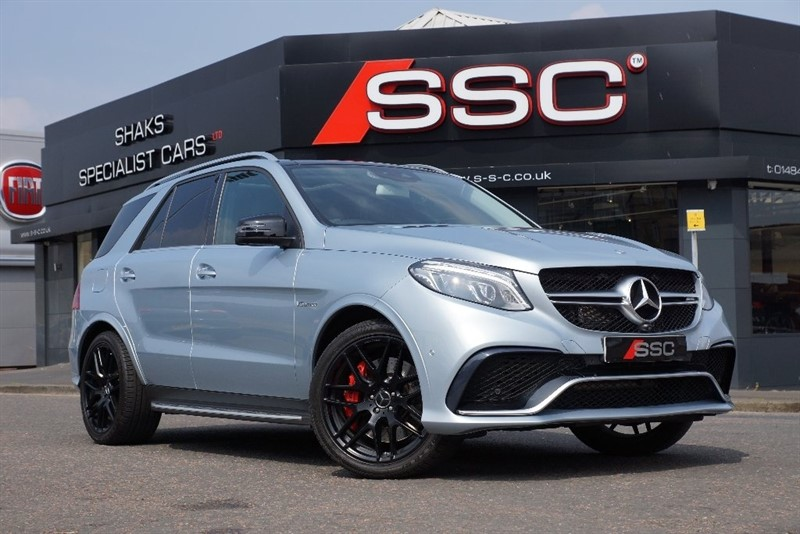 used Mercedes GLE Class GLE63 AMG S Premium (Premium Pack) 4-MATIC 5dr (start/stop) in yorkshire