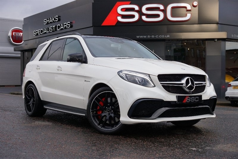 used Mercedes GLE Class GLE63 AMG S (Premium) Estate Speedshift+ 7G-Tronic 4MATIC 5dr (start/stop) in yorkshire
