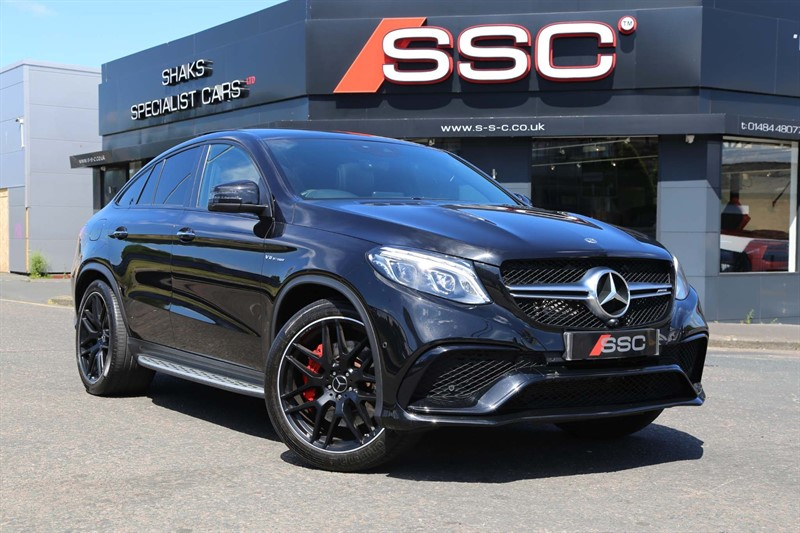used Mercedes GLE63 AMG V8 AMG S (Premium) SpdS+7GT 4MATIC (s/s) in huddersfield-west-yorkshire