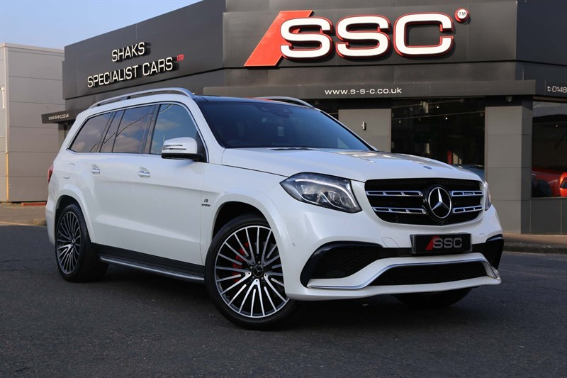 used Mercedes GLS63 V8 AMG SpdS+7GT 4MATIC (s/s) in huddersfield-west-yorkshire