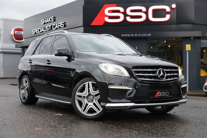 used Mercedes ML63 AMG M Class Speedshift Plus 7G-Tronic 5dr in yorkshire