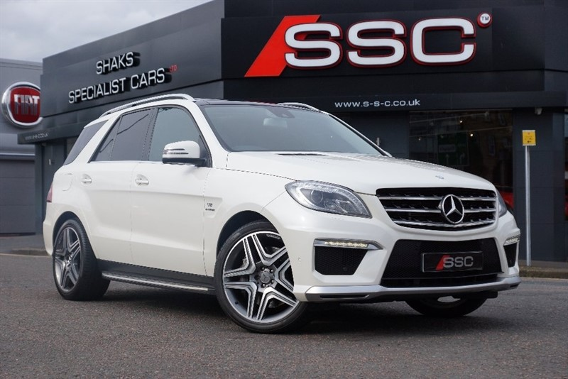 used Mercedes ML63 AMG M Class 5dr in yorkshire