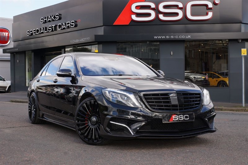 used Mercedes S63L AMG MANSORY EDITION in yorkshire