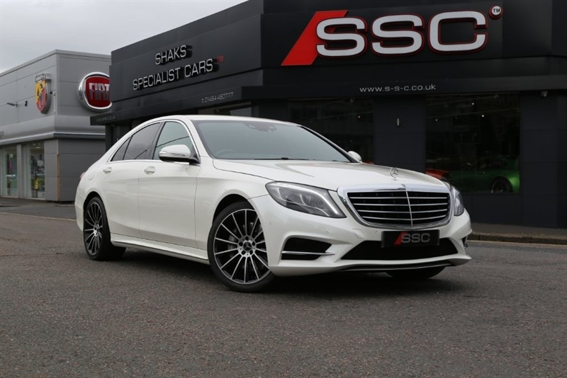 used Mercedes S350 S Class CDI BlueTEC AMG Line 7G-Tronic Plus 4dr in huddersfield-west-yorkshire