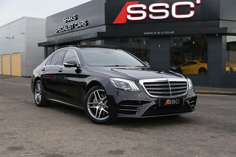 used Mercedes S350 S Class 3.0 AMG Line (Executive) G-Tronic+ (s/s) 4dr in huddersfield-west-yorkshire