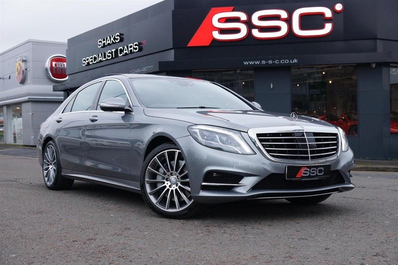 used Mercedes S350 S Class AMG Line L (Premium) 9G-Tronic Plus 4dr in huddersfield-west-yorkshire
