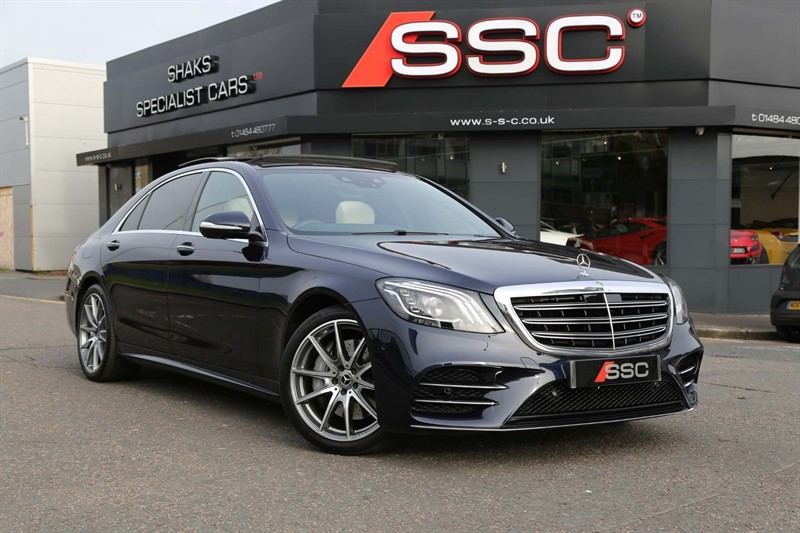 used Mercedes S350L 3.0 d AMG Line (Executive, Premium Plus) G-Tronic+ (s/s) in huddersfield-west-yorkshire