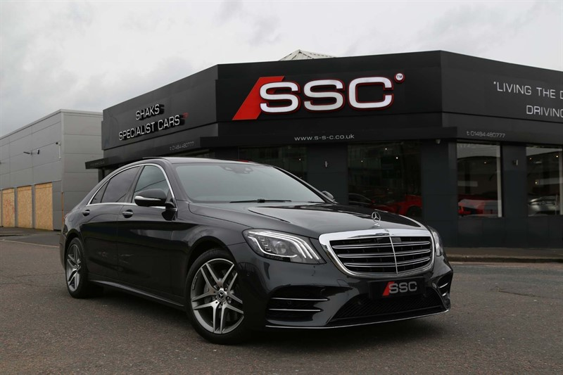 used Mercedes S400 3.0 d AMG Line (Executive, Premium) G-Tronic+ (s/s) in huddersfield-west-yorkshire