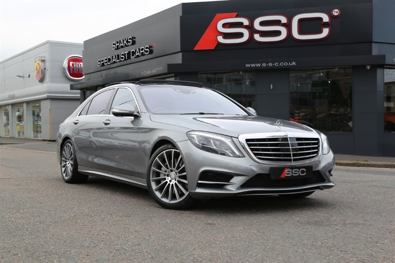 used Mercedes S500 S Class AMG Line L 7G-Tronic Plus (s/s) 4dr in huddersfield-west-yorkshire