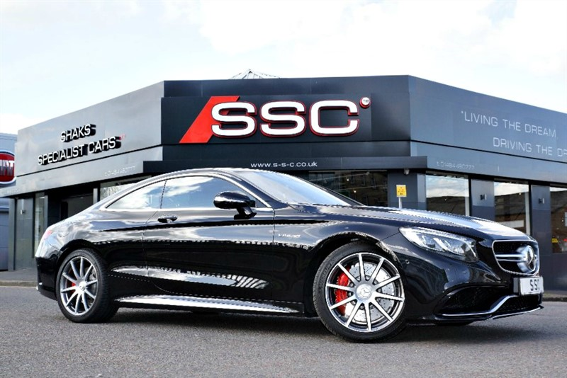 used Mercedes S63 AMG S Class (s/s) 2dr in yorkshire