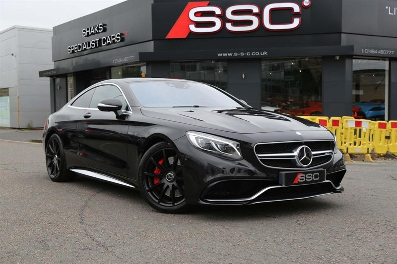 used Mercedes S63 AMG S Class V8 AMG (s/s) 2dr in huddersfield-west-yorkshire