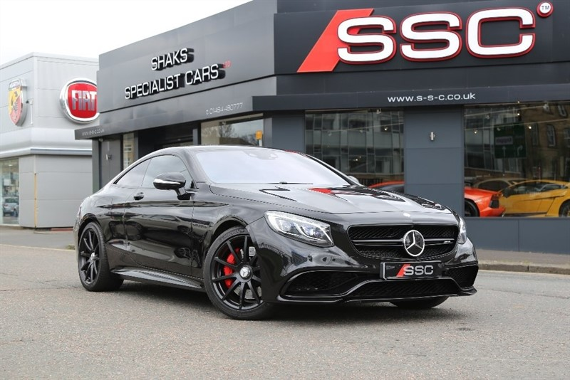 used Mercedes S63 AMG S Class Speedshift MCT 2dr (start/stop) in yorkshire