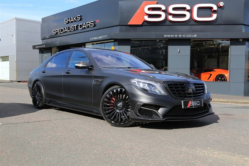 used Mercedes S63 AMG S Class L (Executive) MCT (s/s) 4dr in huddersfield-west-yorkshire