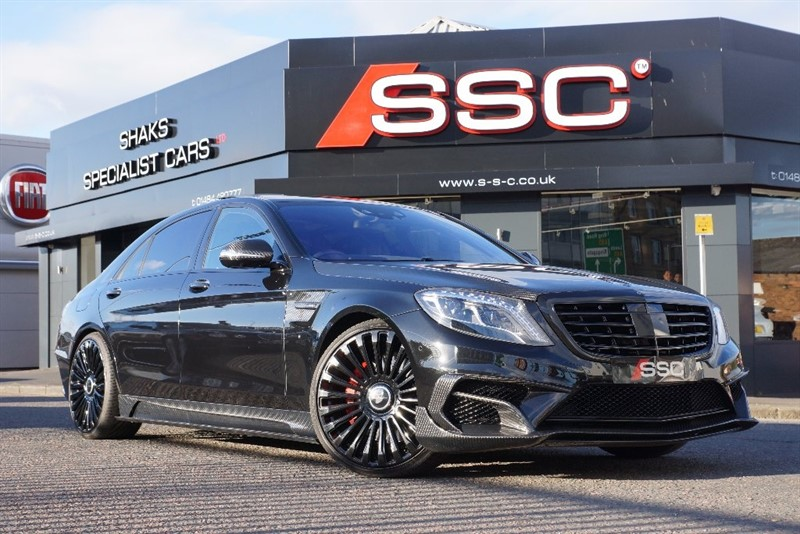 used Mercedes S63 AMG S Class L MCT 4dr (start/stop) in yorkshire