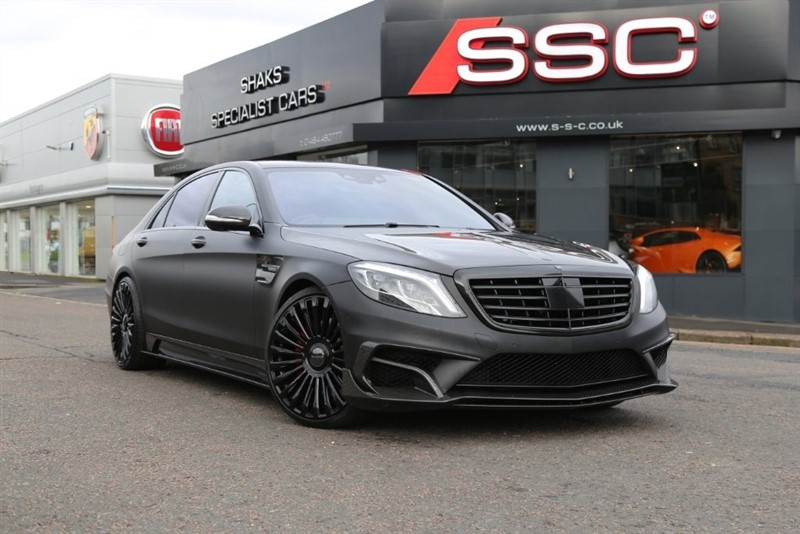 used Mercedes S63 AMG S Class L MCT (s/s) 4dr in huddersfield-west-yorkshire