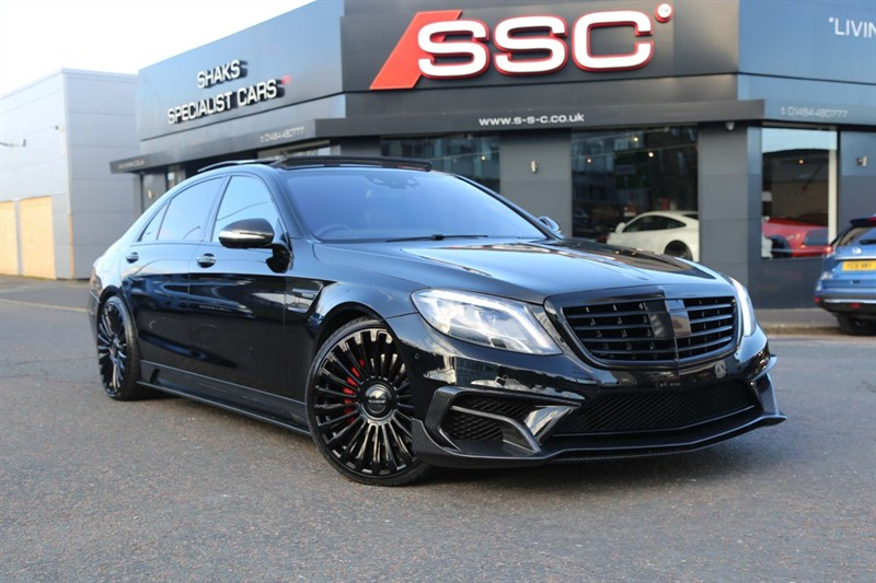 used Mercedes S63 AMG L (Executive) MCT (s/s) in huddersfield-west-yorkshire