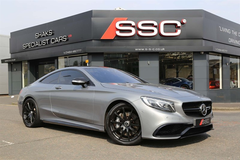 used Mercedes S63 V8 AMG SpdS MCT (s/s) in huddersfield-west-yorkshire