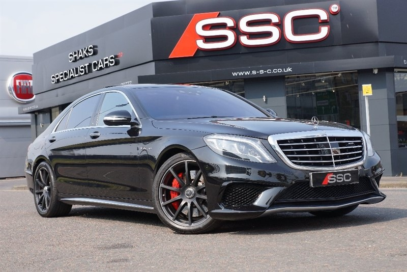 used Mercedes S63L AMG S Class 5.5 L (Executive Pack) MCT 4dr in yorkshire