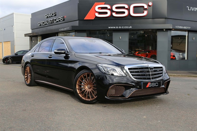 used Mercedes S65L AMG V12 AMG SpdS+7GT (s/s) in huddersfield-west-yorkshire