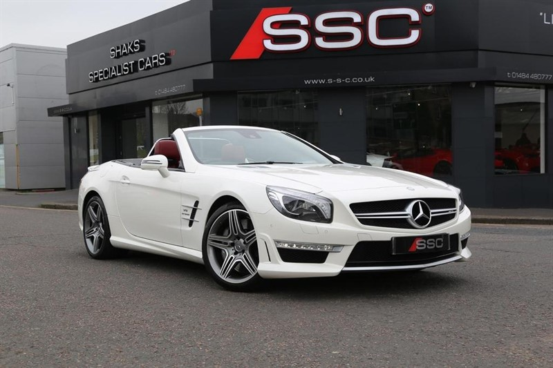 used Mercedes SL Class SL63 AMG Speedshift MCT 2dr in huddersfield-west-yorkshire