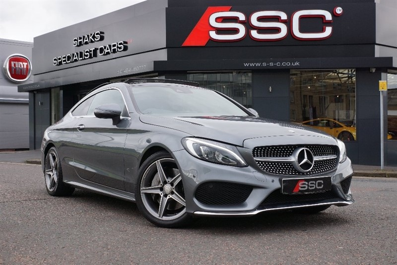 used Mercedes  C Class C250d AMG Line (Premium Plus) Coupe 9G-Tronic Plus 2dr (start/stop) in yorkshire