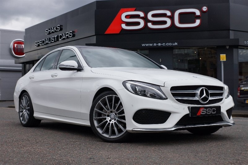 used Mercedes  C Class C220d AMG Line (Premium) 4dr (start/stop) in yorkshire