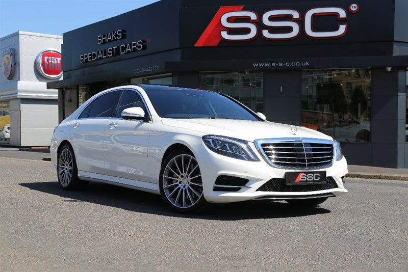 used Mercedes S350 S Class AMG Line L (Executive Premium) 7G-Tronic Plus (s/s) 4dr in huddersfield-west-yorkshire
