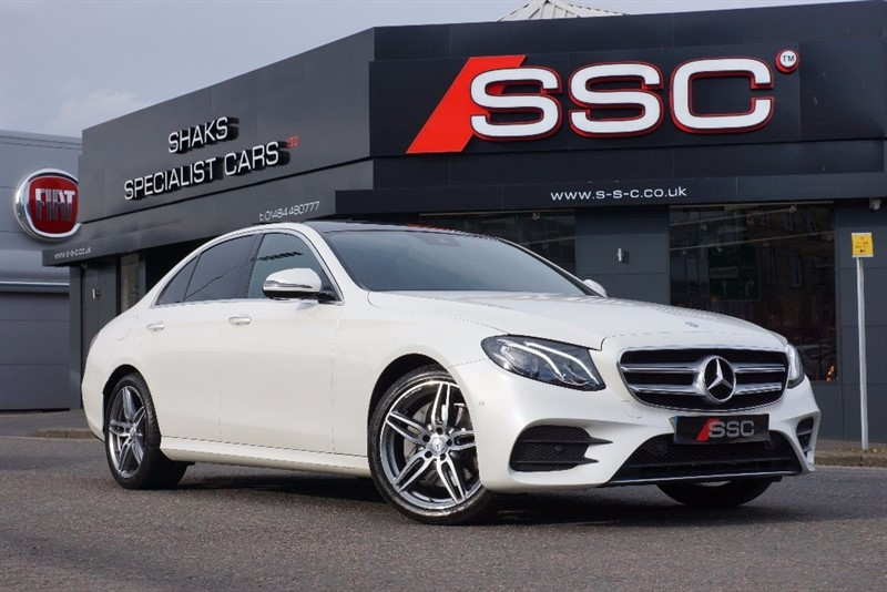 used Mercedes  E Class E220d AMG Line (Premium) 9G-Tronic 4dr (start/stop) in yorkshire