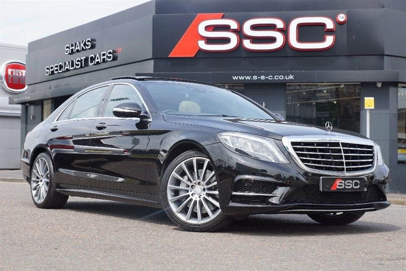 Car of the week - Mercedes S Class S350dL AMG Line (Executive Pack) 4dr (start/stop) - Only £54,995