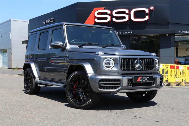 used Mercedes  G Class G63 V8 BiTurbo AMG Speedshift Plus 9G-Tronic 4x4 (s/s) 5dr in huddersfield-west-yorkshire