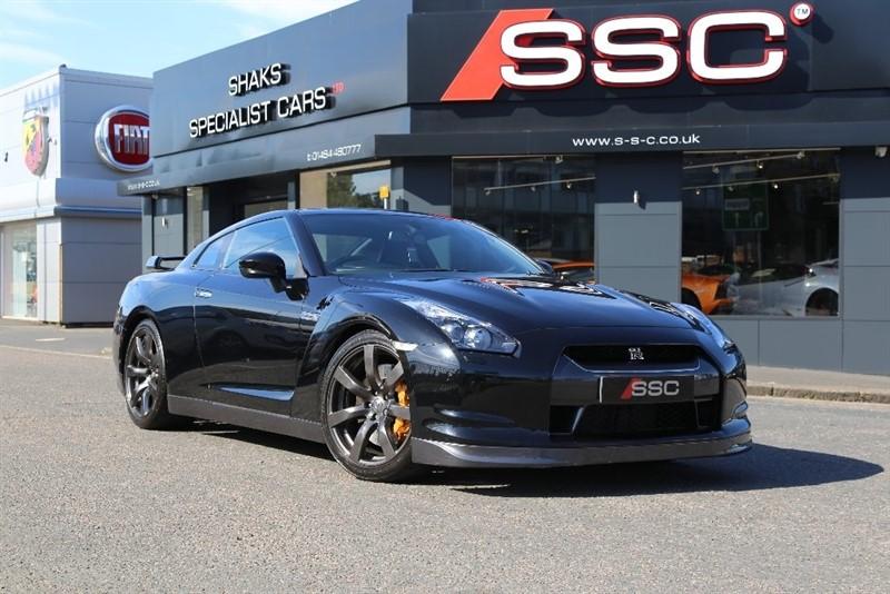 used Nissan GT-R V6 Black Edition 2dr in huddersfield-west-yorkshire