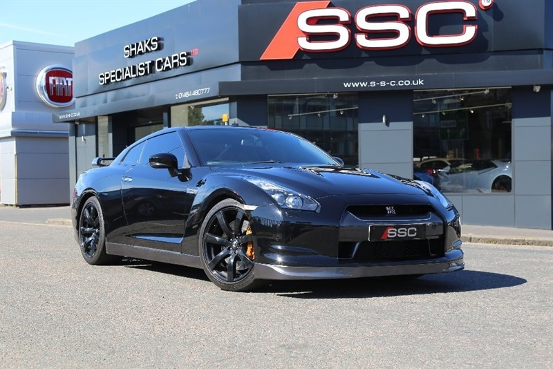 used Nissan GT-R V6 Black Edition 2dr in huddersfield-west-yorkshire
