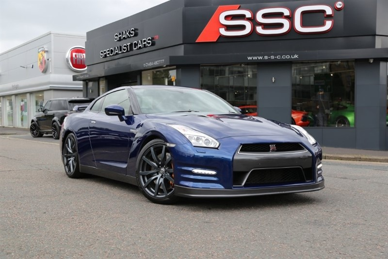used Nissan GT-R V6 Recaro 4WD 2dr in huddersfield-west-yorkshire