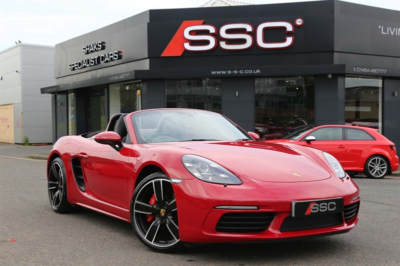 used Porsche 718 Boxster 2.5T S PDK (s/s) in huddersfield-west-yorkshire