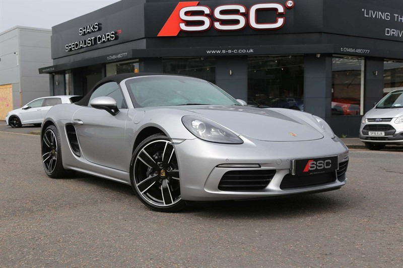 used Porsche 718 Boxster 2.0T PDK (s/s) in huddersfield-west-yorkshire